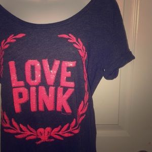 Victoria's Secret PINK Sequin Tee